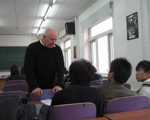 口语课堂与老师互动