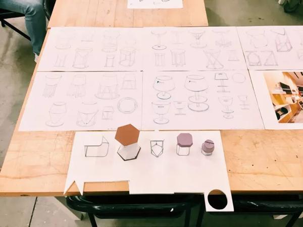 CCA近期一次project过程中的sketch和小模型.png
